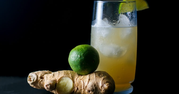 Fresh Ginger Moscow Mule