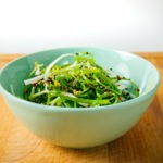 Green Onion Salad Bowl
