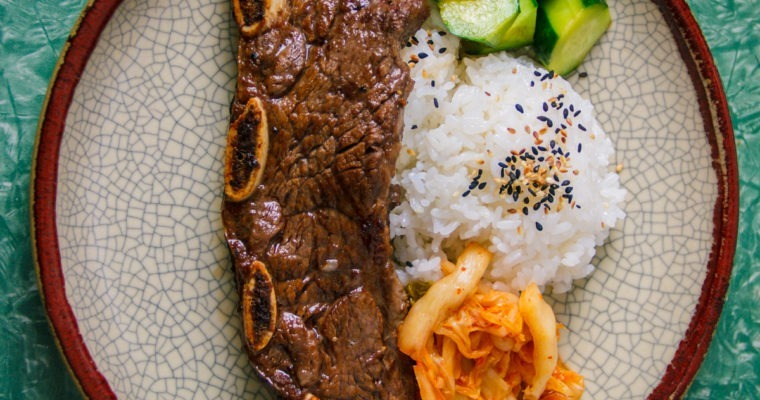 Backyard-Broiler Kalbi Ribs