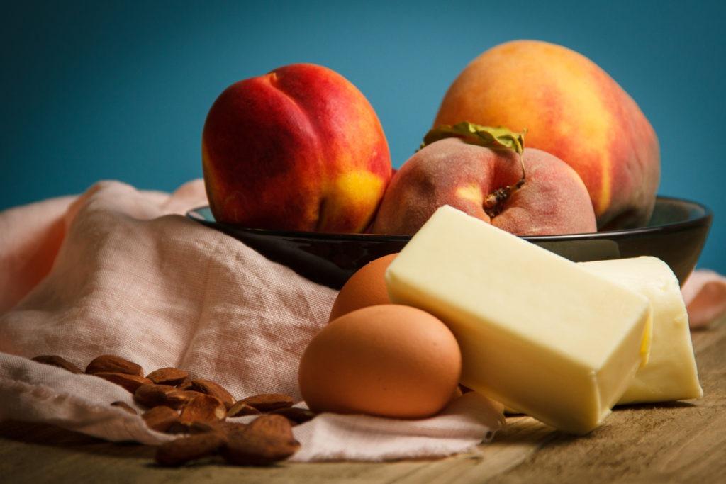 Peach Galette Ingredients