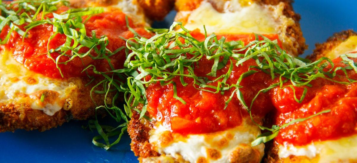 Crisp and Crunchy Chicken Parmesan