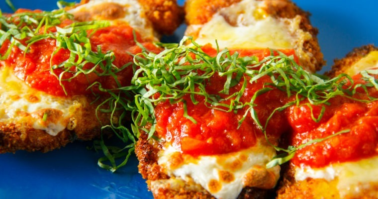 Crisp and Crunchy Chicken Parmesan